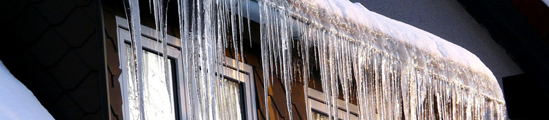 Ice dams in the Minnesota Twin Cities of Minneapolis and St. Paul cause damage to residential and commercial properties.